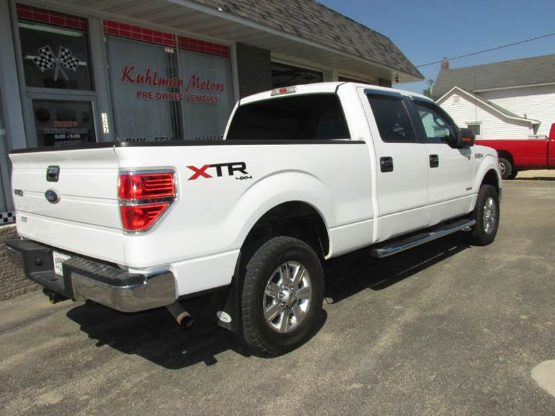 2011 Ford F-150 4x4 XLT 4dr SuperCrew Styleside 5.5 ft. SB - Maquoketa IA