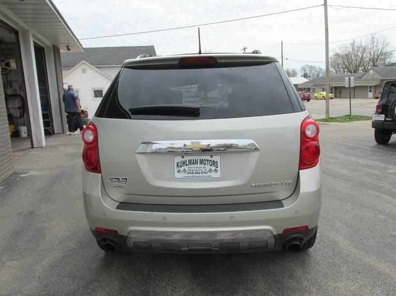 2013 Chevrolet Equinox AWD LTZ 4dr SUV - Maquoketa IA