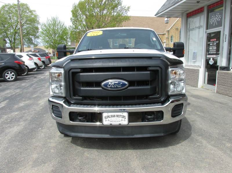 2011 Ford F-250 Super Duty 4x4 XL 4dr Crew Cab 8 ft. LB Pickup - Maquoketa IA
