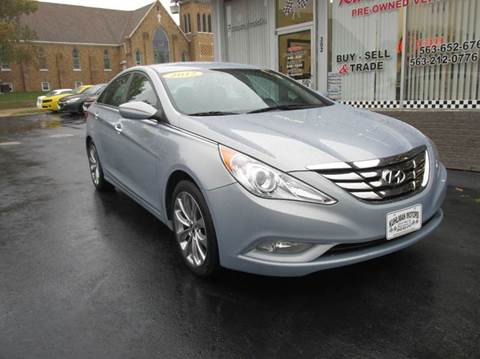 2012 Hyundai Sonata for sale in Maquoketa, IA
