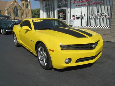 2012 Chevrolet Camaro for sale in Maquoketa, IA