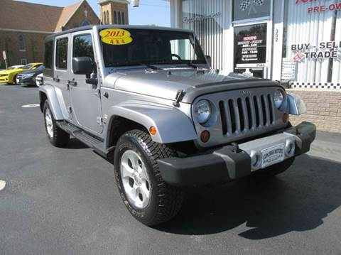 2013 Jeep Wrangler Unlimited for sale in Maquoketa, IA
