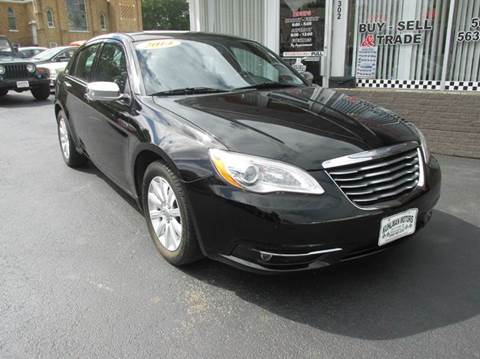 2014 Chrysler 200 for sale in Maquoketa, IA