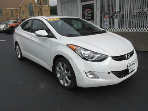 2012 Hyundai Elantra for sale in Maquoketa, IA