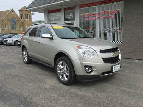 2013 Chevrolet Equinox for sale in Maquoketa, IA