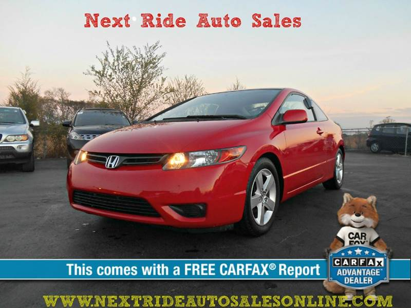 2006 honda civic ex 2dr coupe w automatic in murfreesboro