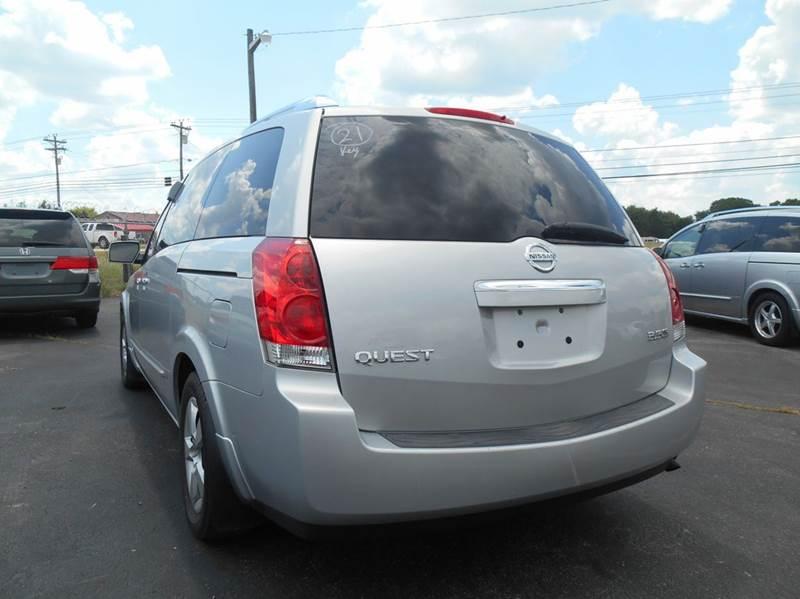 2009 Nissan Quest 3 5 S 4dr Mini Van In Murfreesboro TN