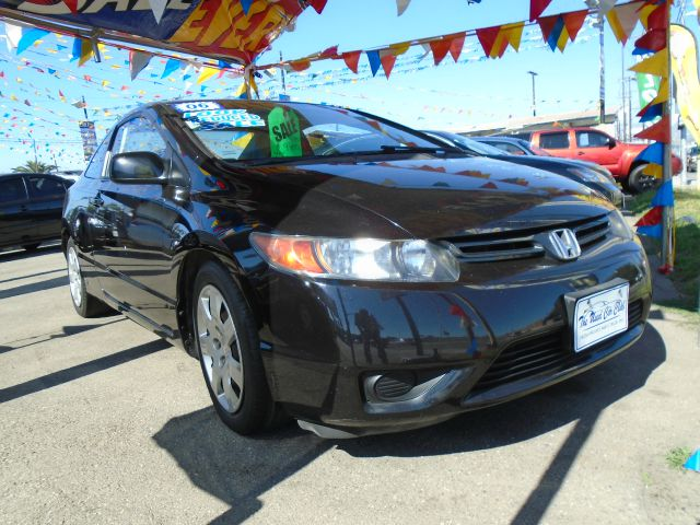 2006 HONDA CIVIC LX 2DR COUPE black save gassave gassave gas save moneysave money