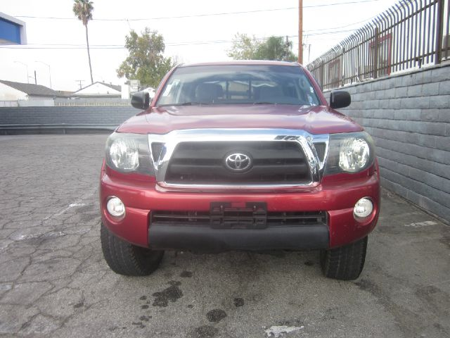 2006 TOYOTA TACOMA SR5 maroon air conditioning alarm system alloy wheels amfm radio wcd playe