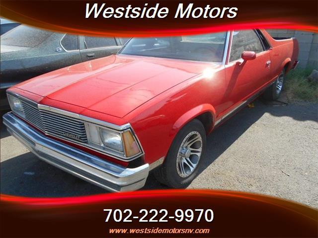 1981 chevrolet el camino in las vegas nv westside motors