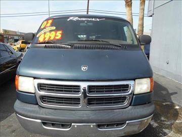 2002 Dodge Ram Van for sale in Las Vegas, NV