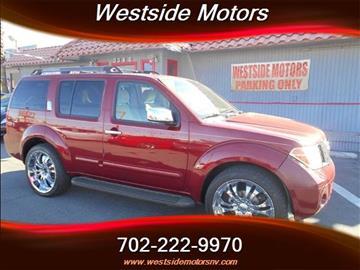 2006 Nissan Pathfinder for sale in Las Vegas, NV
