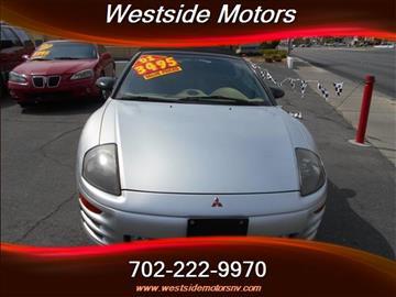 2001 Mitsubishi Eclipse Spyder for sale in Las Vegas, NV