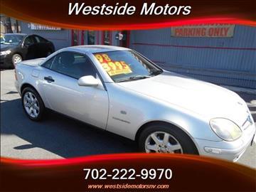 1998 Mercedes-Benz SLK for sale in Las Vegas, NV