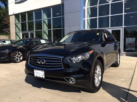 2016 Infiniti QX70 for sale in North Olmsted OH