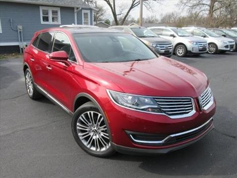 2016 Lincoln MKX for sale in Centralia IL