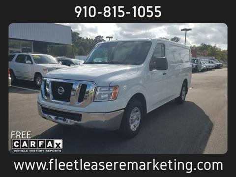 2013 Nissan NV Cargo for sale in Wilmington, NC
