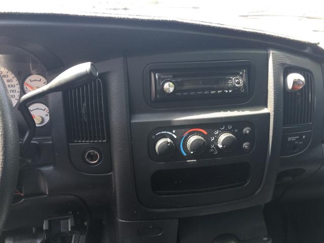 2004 Dodge Ram Pickup 1500 SLT 2dr Regular Cab Rwd LB - Greenville SC