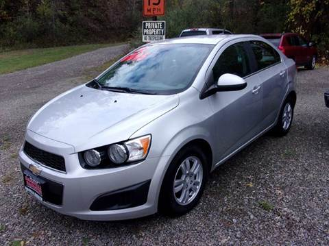 2012 Chevrolet Sonic for sale in Dansville, NY