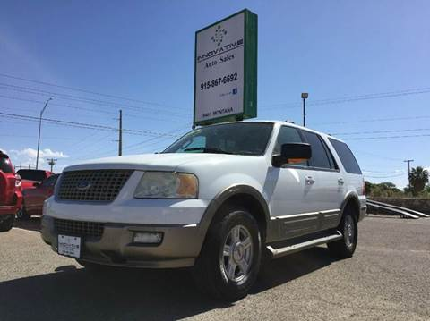 2004 Ford Expedition for sale in El Paso, TX