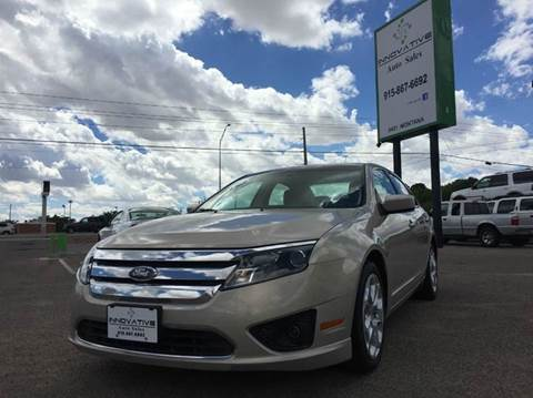 2010 Ford Fusion for sale in El Paso, TX