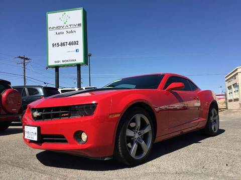 2010 Chevrolet Camaro for sale in El Paso, TX