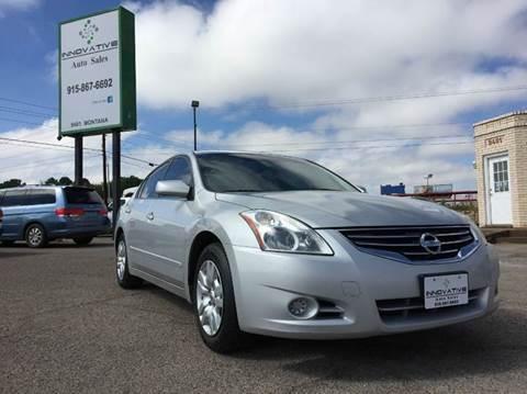2012 Nissan Altima for sale in El Paso, TX