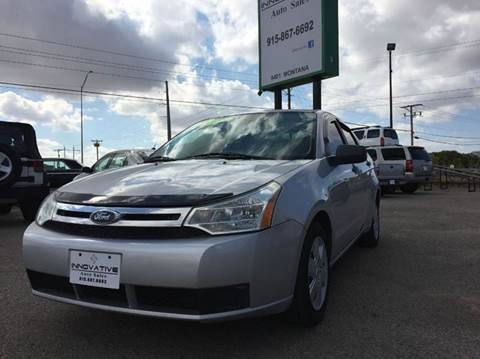 2009 Ford Focus for sale in El Paso, TX