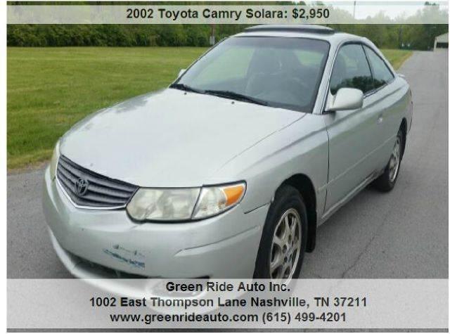 2002 Toyota Camry Solara