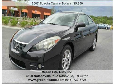 2007 Toyota Camry Solara for sale in Nashville, TN