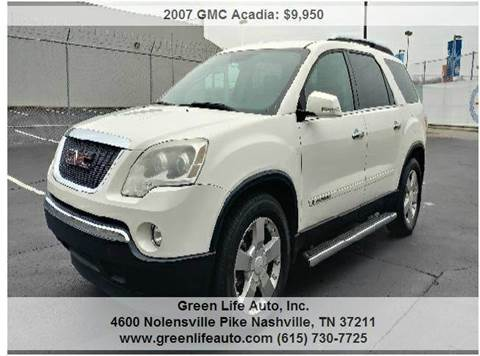Gmc for sale nashville tn for Nashville motors dickerson pike
