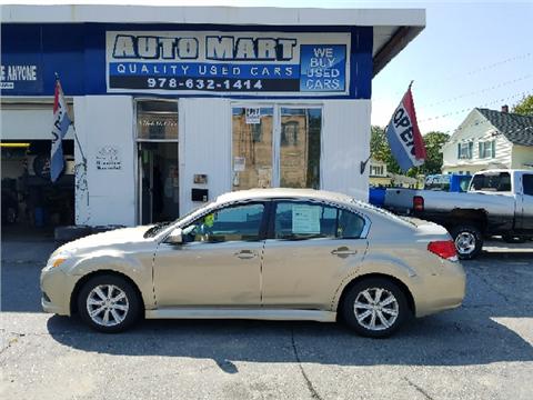 2010 Subaru Legacy for sale in Gardner, MA