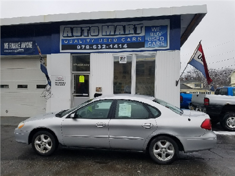 2002 Ford Taurus for sale in Gardner, MA