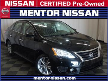 2013 Nissan Sentra for sale in Mentor, OH