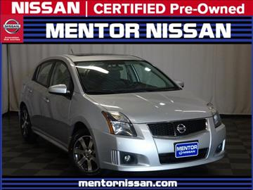 2012 Nissan Sentra for sale in Mentor, OH