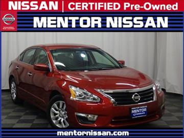 2014 Nissan Altima for sale in Mentor, OH