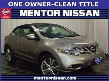 2011 Nissan Murano CrossCabriolet for sale in Mentor, OH