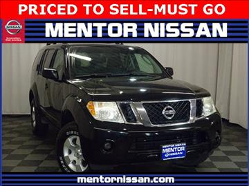 2008 Nissan Pathfinder for sale in Mentor, OH
