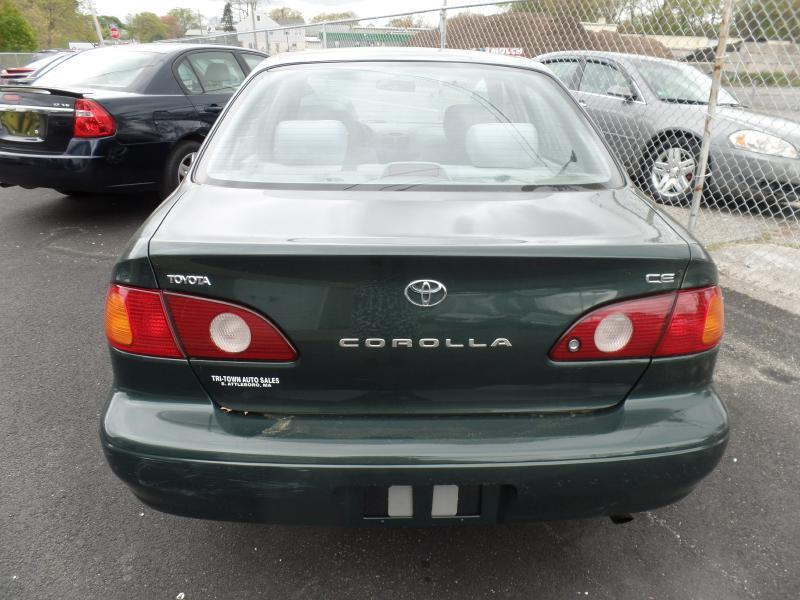 2002 Toyota Corolla CE 4dr Sedan - Attleboro MA