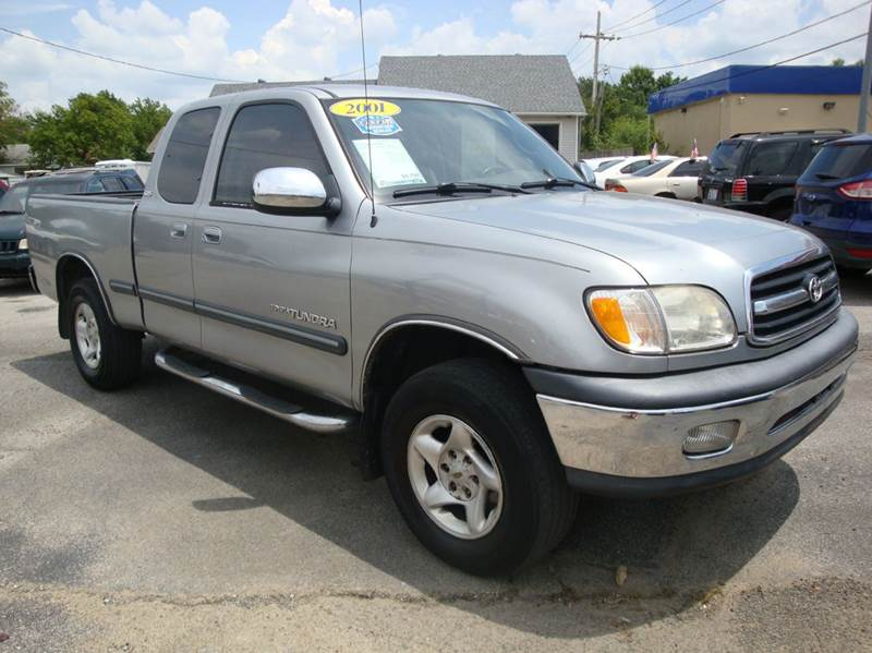 2001 toyota tundra 4dr access cab sr5 v8 2wd sb in sapulpa ok bishops corner auto sales. Black Bedroom Furniture Sets. Home Design Ideas