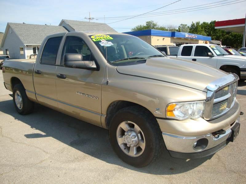 2003 dodge ram pickup 2500 4dr quad cab slt rwd sb in. Black Bedroom Furniture Sets. Home Design Ideas
