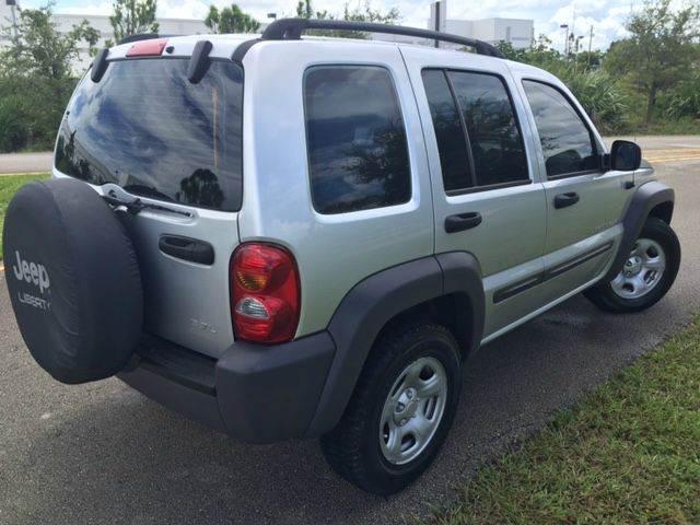 2003 Jeep Liberty Sport 4dr SUV - Pompano Beach FL
