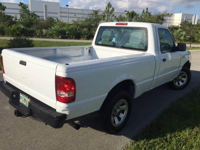 2010 Ford Ranger XL 4x2 2dr Regular Cab SB - Pompano Beach FL