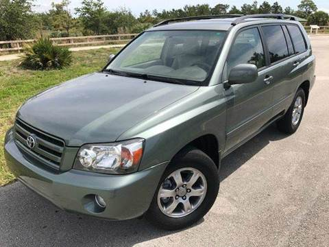 2005 Toyota Highlander for sale in Pompano Beach, FL