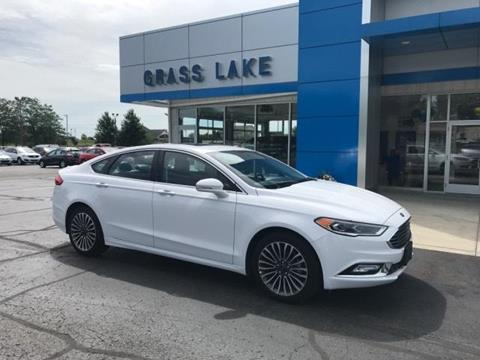 2017 Ford Fusion for sale in Chelsea, MI