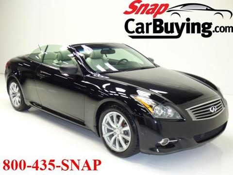 2013 Infiniti G37 Convertible for sale in Chantilly, VA