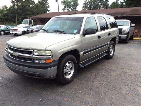 2001 Chevrolet Tahoe for sale in Winnfield, LA
