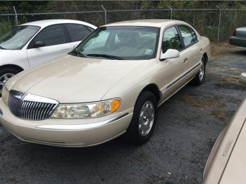 2000 Lincoln Continental for sale in Winnfield, LA