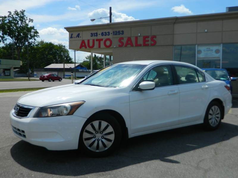 2008 Honda Accord For Sale In Michigan Carsforsale Com