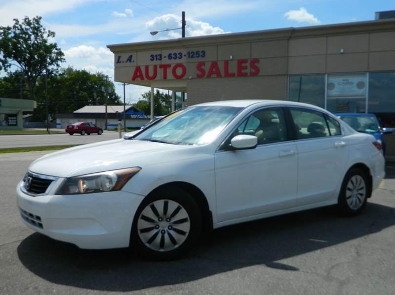 2008 Honda Accord For Sale In Michigan Carsforsale Com